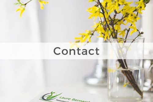 contact - Laure Bernard - Naturopathe Paris